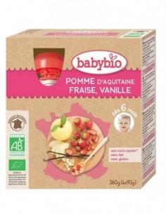 Babybio Pouch Mere, Capsuni...