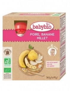 Babybio Pouch Pere, Banane...