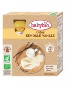 Babybio Pouch Crema de Gris...