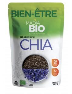 MadiaBio Seminte de Chia 200g