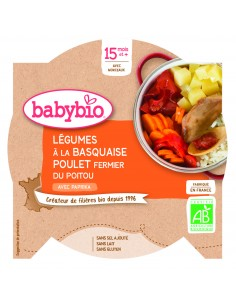 Babybio Eco Meniu de Legume...